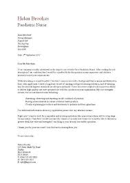 paediatric nurse cover letter in nursing resume cover letter cover letter sample resume