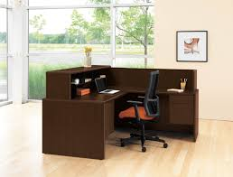 full size of desk appealing l shaped chocolate wooden office desk small space combine wih charming cool office design 2