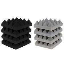 4 шт Звукоизолированные губки студия Пирамида звук стоп ...