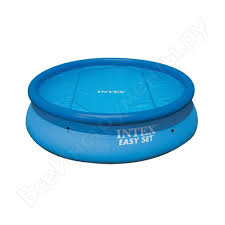 <b>Тент</b> для надувного бассейна <b>intex easy set</b> pool, диаметр 396 см ...