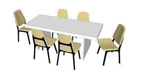 dinner table. <b>chair</b>. <b>обеденный стол</b>. стул | 3D Warehouse