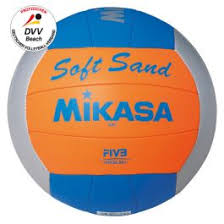 Mikasa® <b>Beach</b>-<b>Volleyball SOFT SAND</b> Size 5