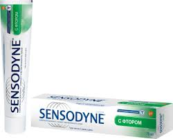 <b>Зубная паста Sensodyne</b> с фтором, для чувствительных зубов ...