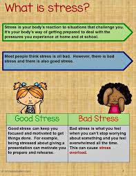 stress management activity bundle teaching kids to manage stress how to manage stress