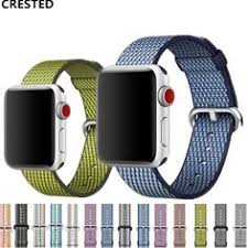 <b>CRESTED strap For</b> Apple Watch band 4 42mm 38mm 3 iwatch ...