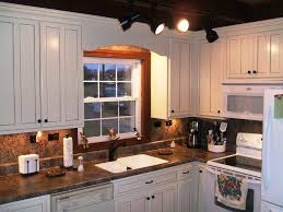 kitchen cabinets with granite countertops:  diy antique white kitchen cabinets