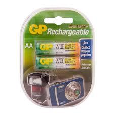 <b>Аккумулятор GP</b> Batteries АА пальчиковый LR6 1,2 В <b>2700</b> мАч (2 ...