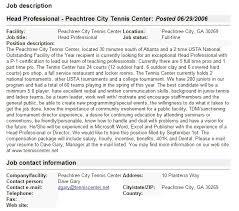 job descriptions format samples    job descriptions format samples