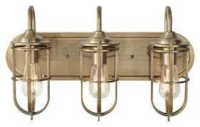 feiss vs36003 dab urban renewal nautical bath lighting dark antique brass finish brass track lighting