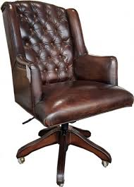 Casa Padrino <b>luxury</b> leather executive chair <b>office chair</b> dark brown ...