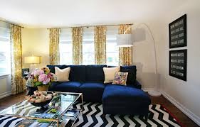 western springs living room mid sized eclectic living room idea in chicago with white walls and blue dark trendy living room