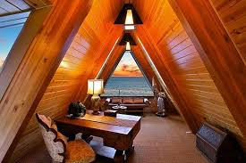 beautiful attic home office beautiful home office view