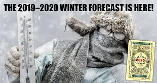 Official <b>2019</b>–2020 <b>Winter</b> Forecast   The Old Farmer's Almanac
