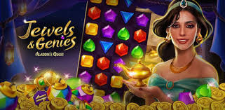 Jewels & Genies: <b>Aladdin</b> Quest - Match 3 Games - Apps on Google ...