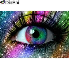 <b>DIAPAI</b> 5D DIY Diamond Painting <b>100</b>% <b>Full</b> Square/Round Drill ...