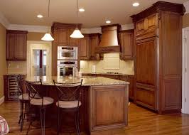 kitchen ideas with cherry cabinets