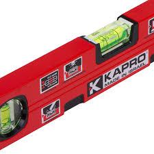 <b>Уровень Kapro</b> Genesis <b>400 мм</b> с двумя глазками и магнитом в ...