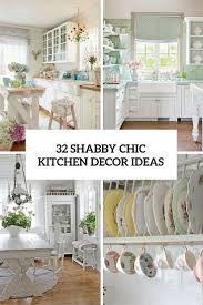 kitchen decorating ideas left  shabby chic kitchen decor ideas cover