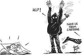 Image result for charlie hebdo support cartoons