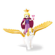 Lego Compatible <b>Single Sale Legoinglys Princess</b> with Flying Horse ...