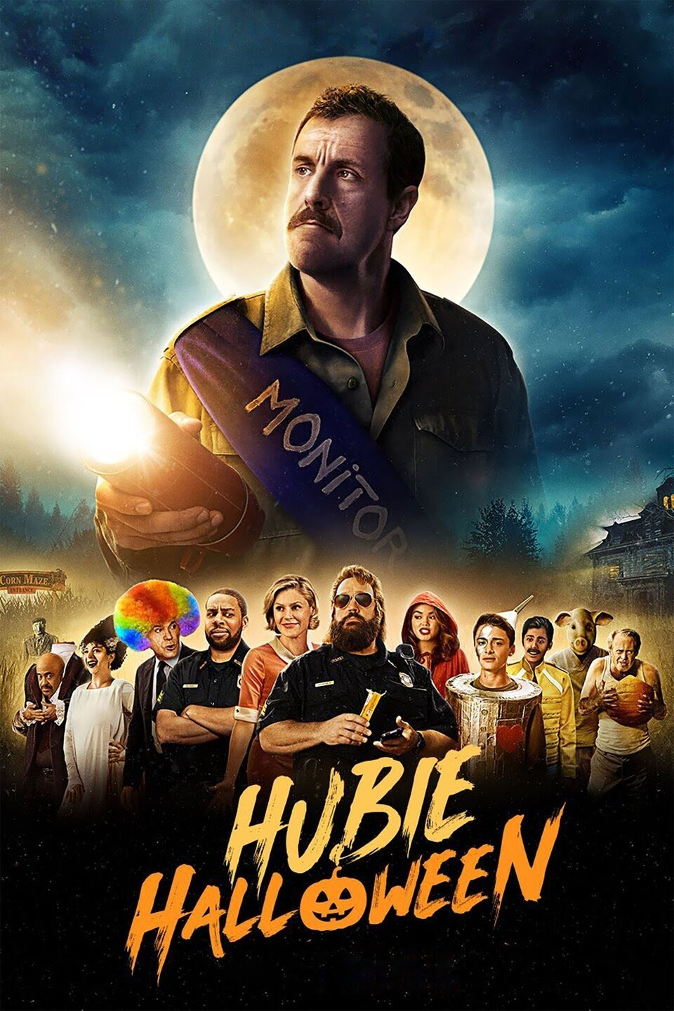 Hubie Halloween (2020) Full Movie In Hindi-English (Dual Audio) WEB-DL 480p | 720p | 1080p