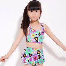 2pcs set children swimsuit girl