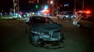 Image result for car accident at night