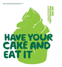 "Macmillan Cancer Support - ""Have your cake and eat it"" 