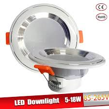 LED <b>Downlight 3W 5W 9W</b> 12W 15W 18W LED Ceiling Round ...