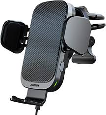 ZOOAUX Fast Wireless Car Charger Vent Mount, <b>Automatic</b>
