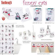 <b>Tatkraft</b> Funny Cats <b>Коврик для ванной</b> из очень мягкого ...