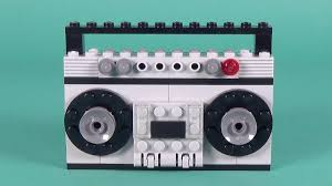 Lego <b>Radio Cassette Player</b> Building Instructions - Lego Classic ...