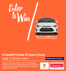 friends of guest house contact 2017 car raffle