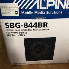<b>Сабвуфер Alpine SBG</b>-<b>844br</b> – купить в Москве, цена 4 500 руб ...
