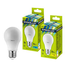 59365_Ergolux <b>LED</b>-<b>A60</b>-<b>10W</b>-E27-4K (Эл.<b>лампа светодиодная</b> ...