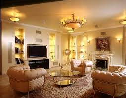 living room adorable living room ideas sets with low ceiling combine simple chandelier and luxury leather armchair with round glass coffe table and adorable living room