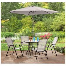 patio table and 6 chairs:  piece patio set cheap patio set amazon