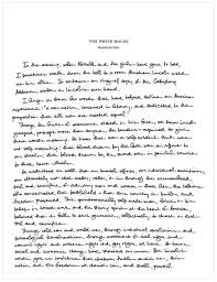 president obama essay president obamas handwritten tribute to president obama s handwritten tribute to the gettysburg addresspotus gettysburg web potus gettysburg web social media correspondents photo essay