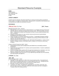 what does a standard resume look like equations solver cover letter standard resume exle n