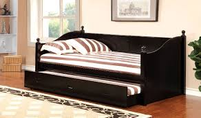 cm1928 walcott daybed w trundle black or white black or white furniture