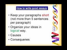 How to write good essays   Degree     s Essays   eocp nl EOCP How to write good essays