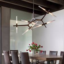 Modern <b>Minimalist LED</b> Chandelier light rotatable Branch <b>Nordic</b> ...
