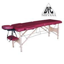 <b>Массажный стол DFC</b> NIRVANA <b>Relax</b> дерев. ножки цвет винный ...