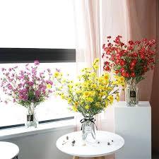<b>Xuanxiaotong</b> 5pcs <b>65cm</b> Large Daisy Silk Artificial Flowers Bouquet ...