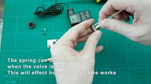 dropController Cleaning an Airtac <b>2V025 08 solenoid valve</b> - YouTube