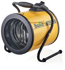 Электрическая <b>тепловая пушка Ballu</b> BHP-P-3 (3 кВт) — купить по ...