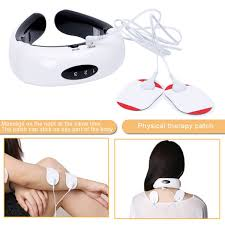 <b>Portable Electric</b> Back <b>Neck</b> Massager With Acupuncture Magnetic ...
