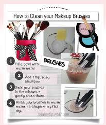 how to clean your makeup brushes look good naturally