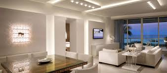using recessed downlights in a high ceiling as ambient light ceiling ambient lighting