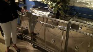 borghese mirrored buffet server by bassett mirror company home gallery stores youtube borghese mirrored furniture